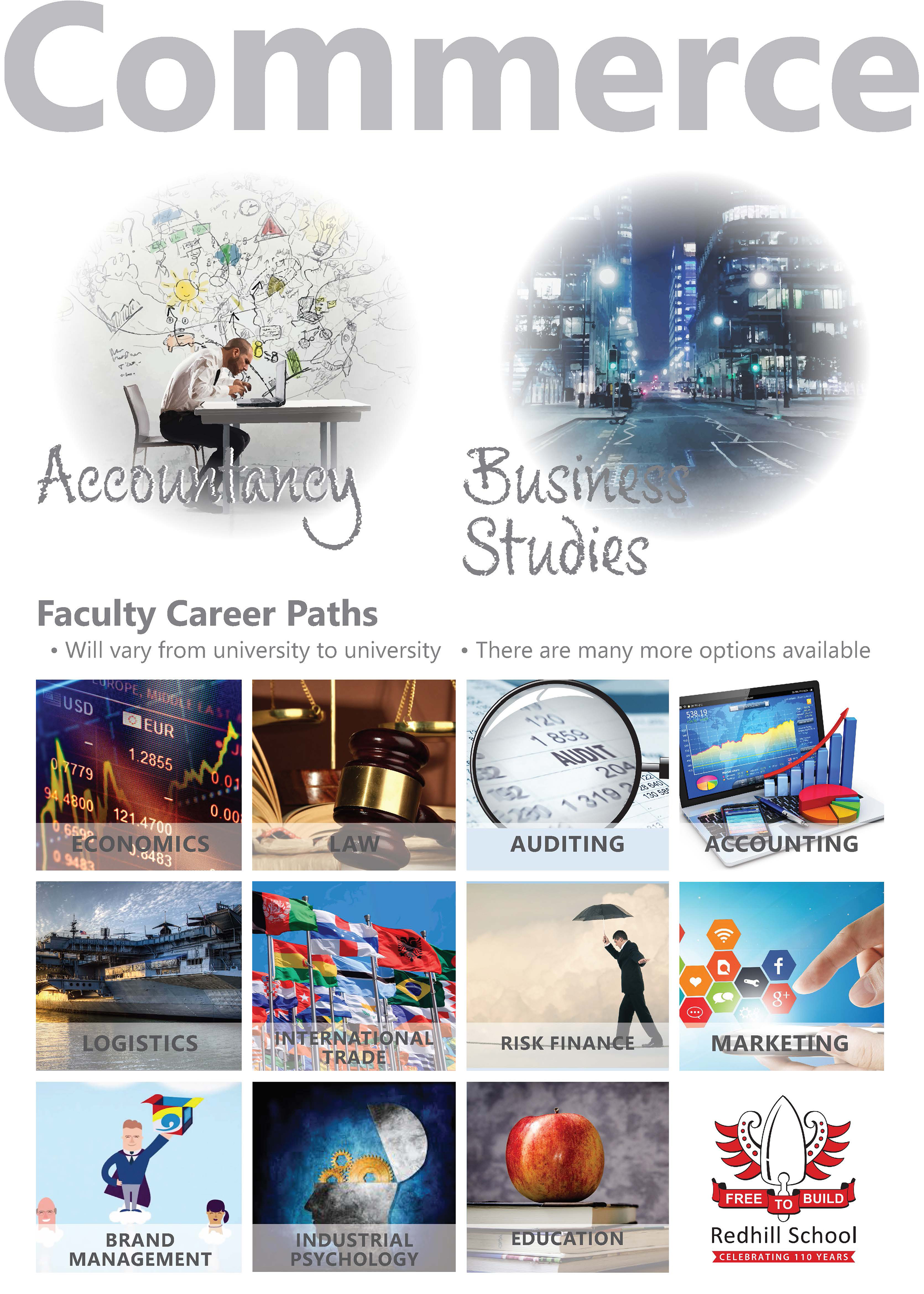 Commerce - Faculty Career Paths