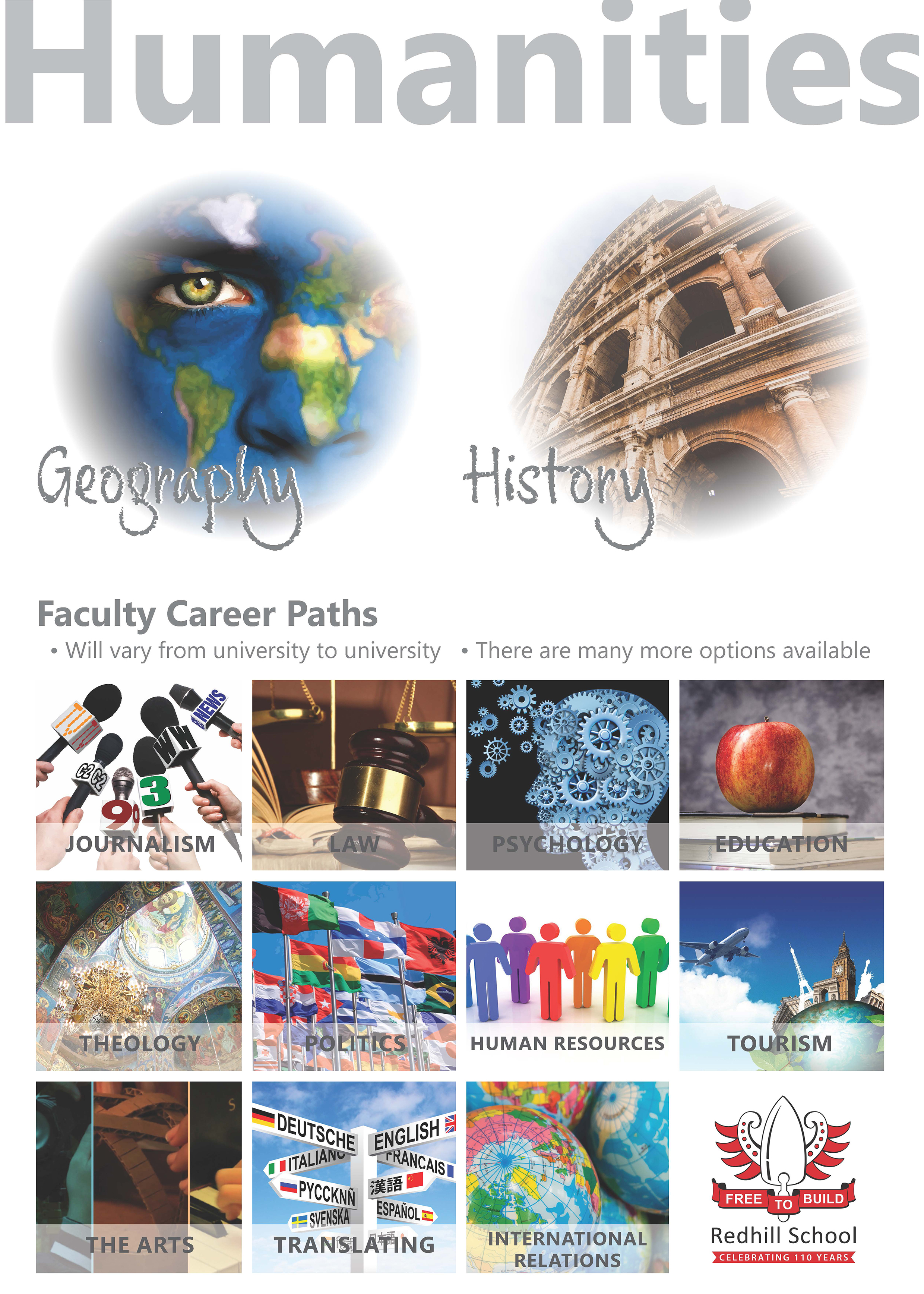 Humanities - Faculty Career Paths